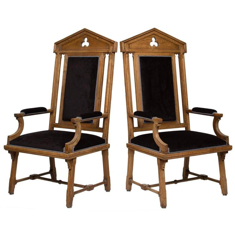 Vintage Moorish Style Large Armchairs In Excellent Condition For Sale In Brentwood, TN