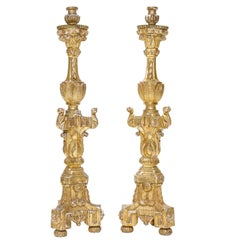 Early 19th Century, French Altar Candlesticks