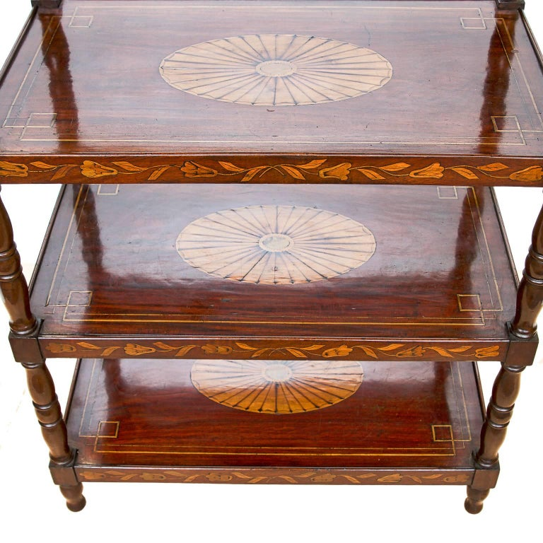 19th century dutch inlaid tag re for sale at 1stdibs. Black Bedroom Furniture Sets. Home Design Ideas