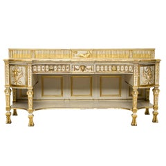 19th Century Neoclassical Style Painted Sideboard