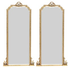 Pair of Scottish Tall Mirrors