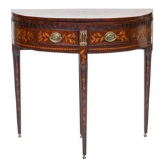 19th Century Dutch Inlaid Console or Table
