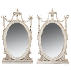 Vintage Almost a Pair of Sheraton Mirrors