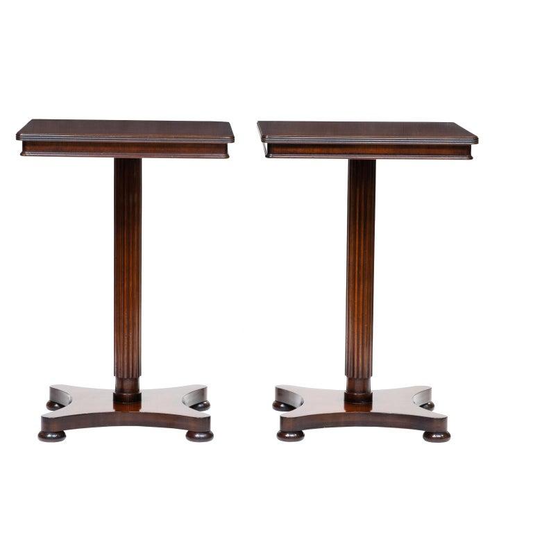 Pair of Vintage English Regency Side Table
