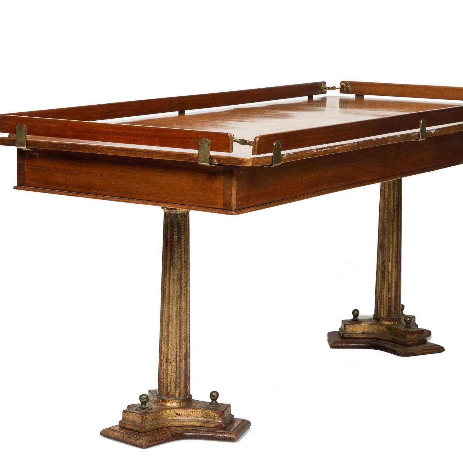 Vintage yacht table from europe at 1stdibs for Table design yacht