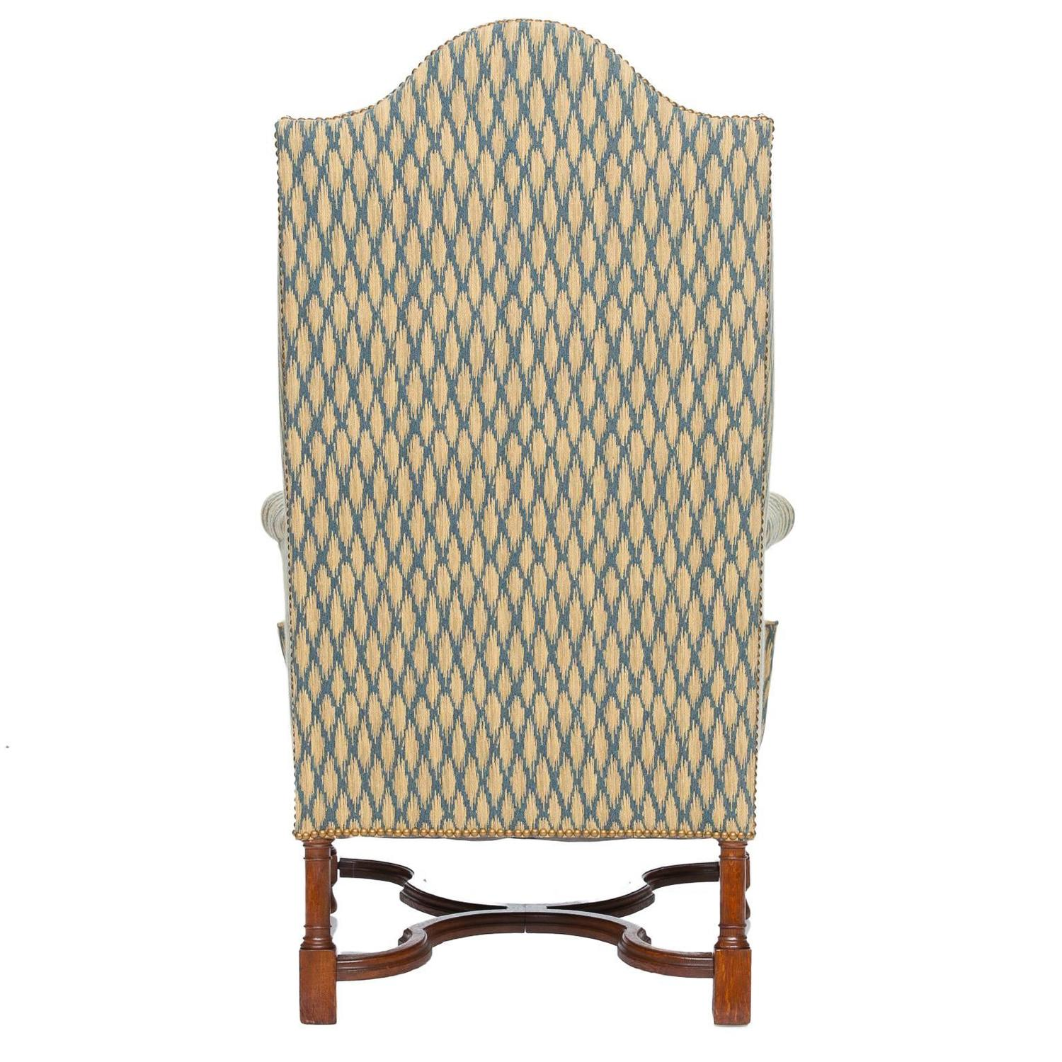 Antique Wingback Armchair At 1stdibs
