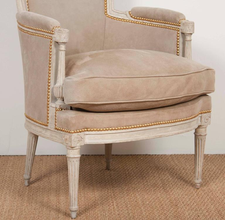 18th Century Pair of Louis XVI Style Chairs  For Sale