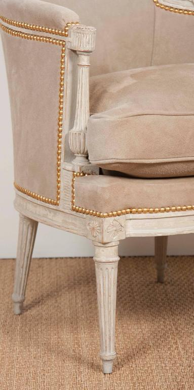 Pair of Louis XVI Style Chairs  For Sale 3