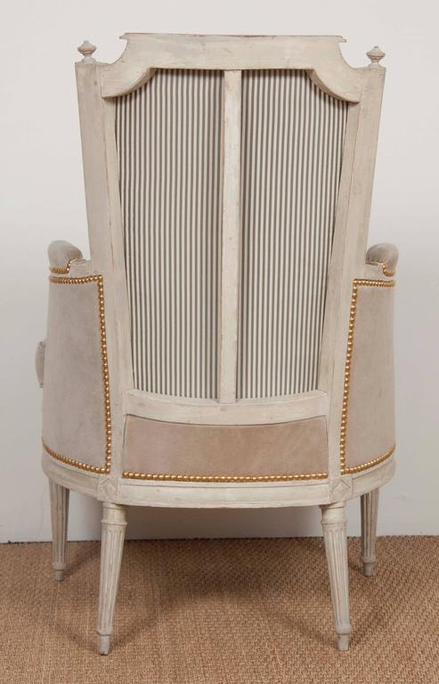 Pair of Louis XVI Style Chairs  In Good Condition For Sale In Stamford, CT