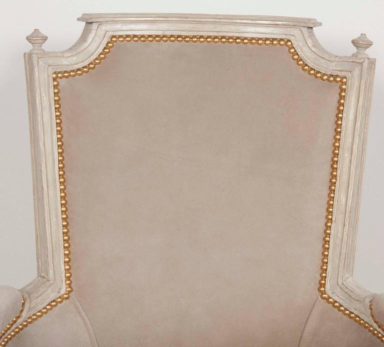 Pair of Louis XVI Style Chairs  For Sale 2
