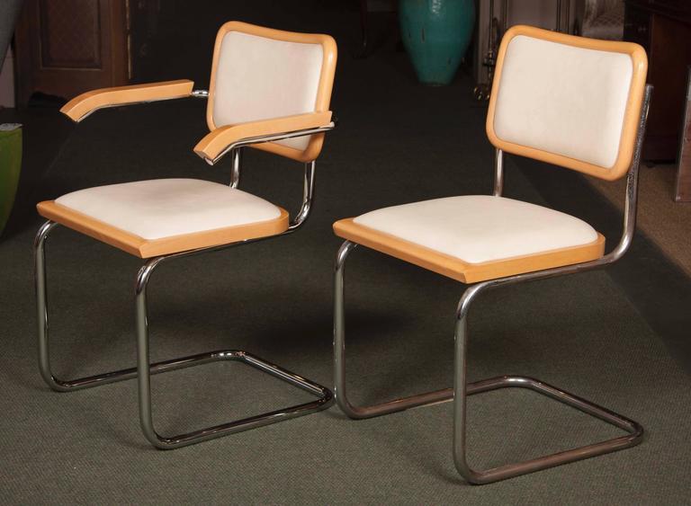 Set Of Four Marcel Breuer Cesca Chairs