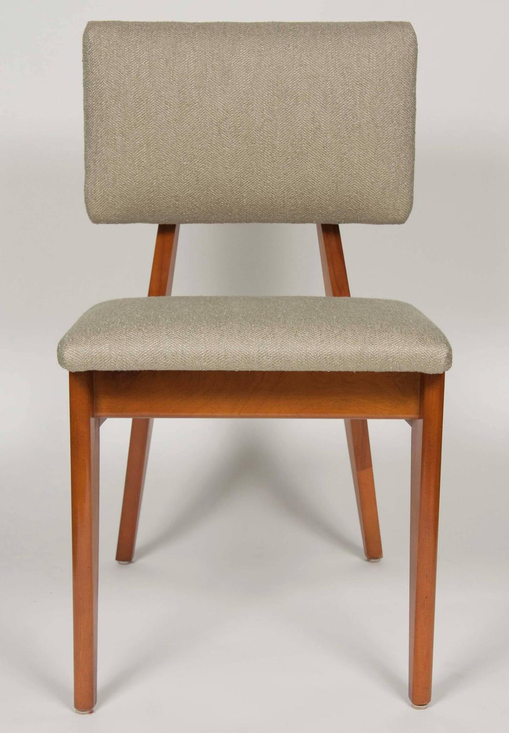 Set Of Six Ernest Farmer For George Nelson And Associates Dining Chairs At 1stdibs