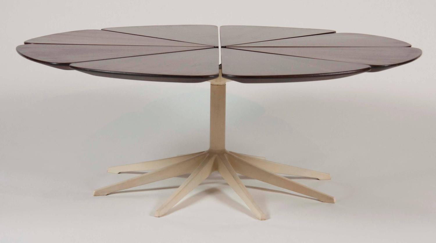 Richard Schultz Redwood Petal Coffee Table Made By Knoll For Sale At 1stdibs