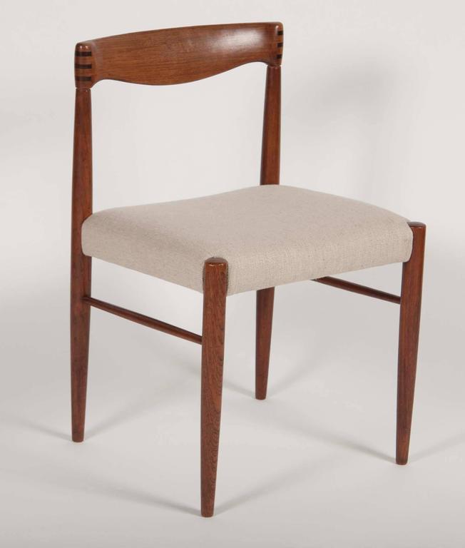 Danish Set of Four H. W. Klein for Bramin Dining Chairs For Sale