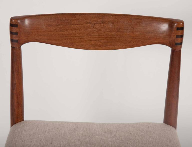 Rosewood Set of Four H. W. Klein for Bramin Dining Chairs For Sale