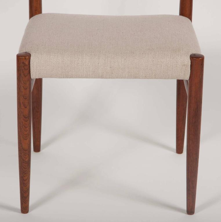 Set of Four H. W. Klein for Bramin Dining Chairs For Sale 3