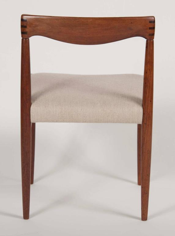 Set of Four H. W. Klein for Bramin Dining Chairs In Good Condition For Sale In Stamford, CT