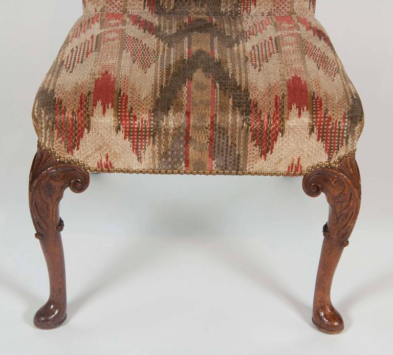 18th Century Set of Six George II Period Dining Chairs For Sale