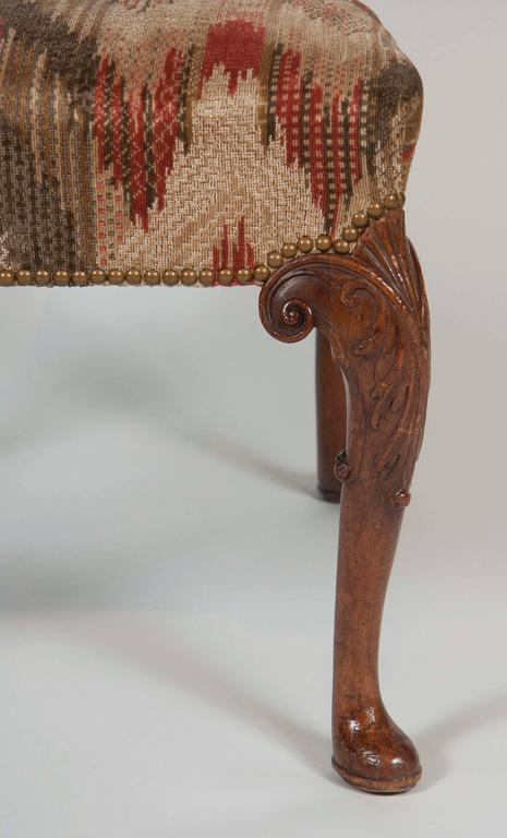 Mahogany Set of Six George II Period Dining Chairs For Sale