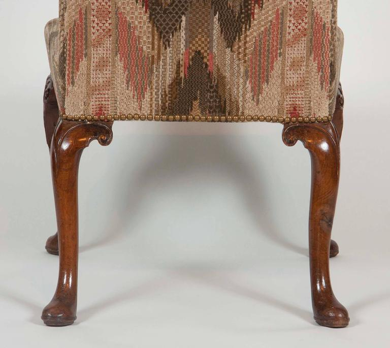 Set of Six George II Period Dining Chairs For Sale 3