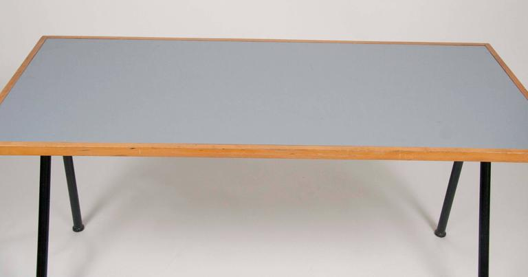 20th Century Compass Desk by Jean Prouve For Sale
