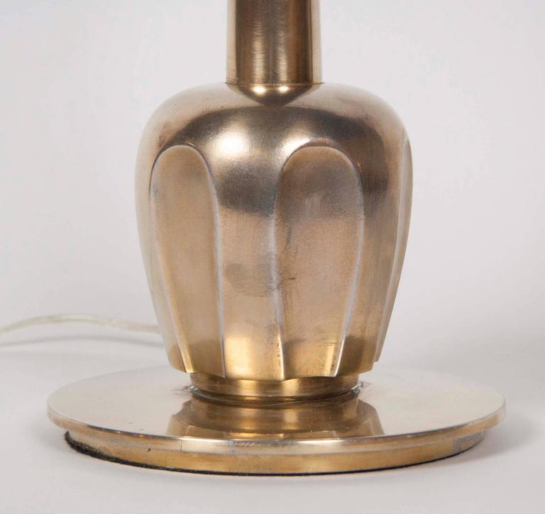 Pair of Brass Stiffel Table Lamps 5