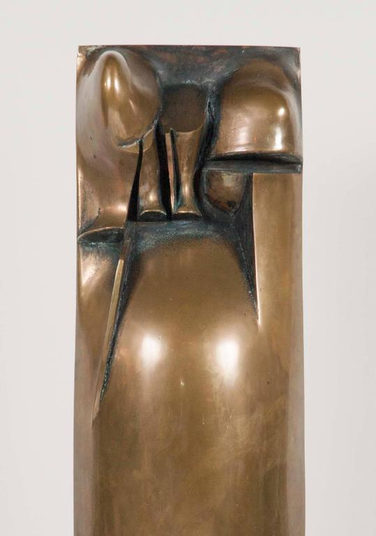 Bronze Sculpture by Noted American Artist Roger Mack In Good Condition For Sale In Stamford, CT