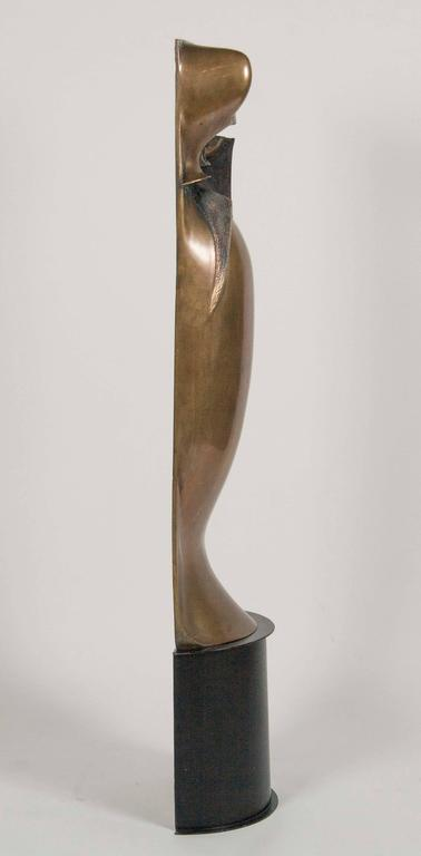 Bronze Sculpture by Noted American Artist Roger Mack For Sale 2