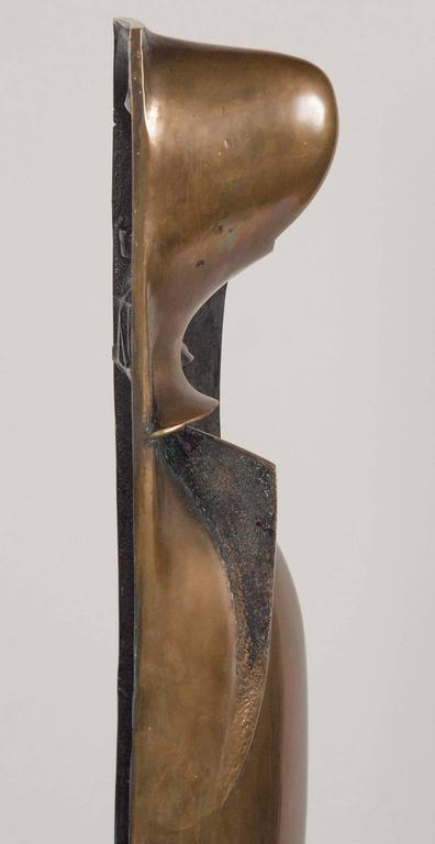 Bronze Sculpture by Noted American Artist Roger Mack For Sale 3