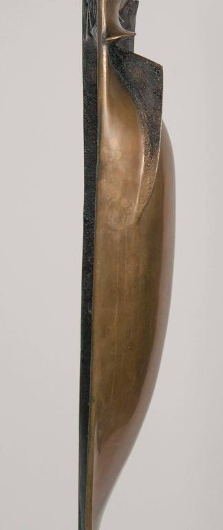 Bronze Sculpture by Noted American Artist Roger Mack For Sale 4