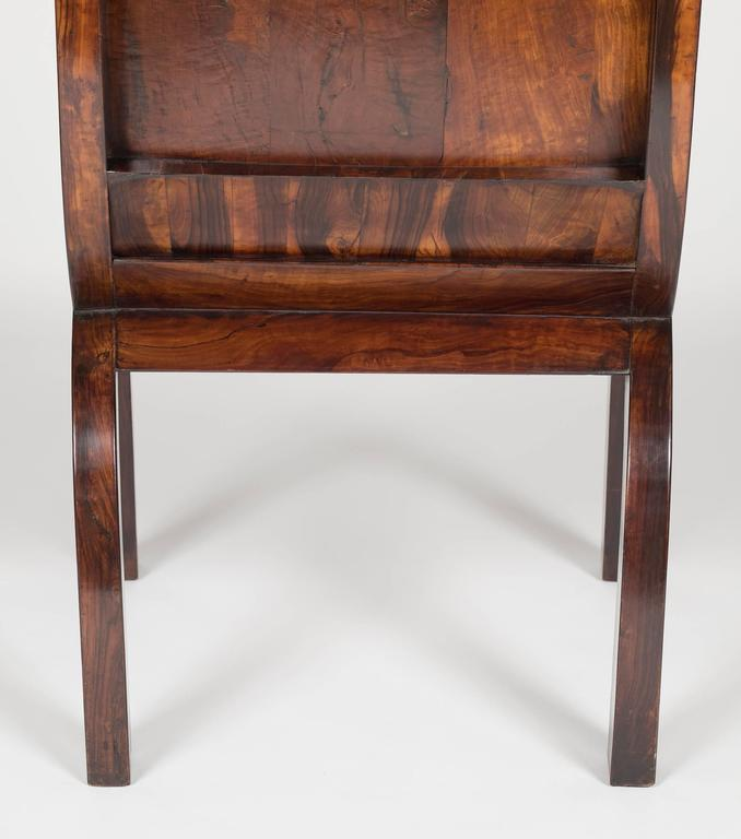 19th Century Olivewood Curule Form Armchair For Sale 5