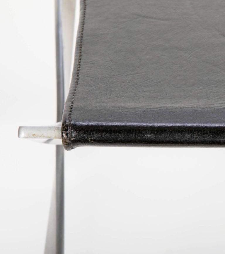 Pair of Poul Kjaerholm PK91 Folding Stools Created by E. Kold Christensen For Sale 1