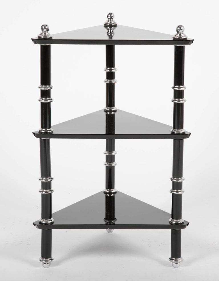 Art Deco Rare Transitional Side Table/Etagere  by Warren McArthur For Sale