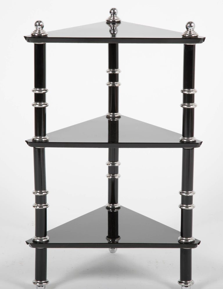 American Rare Transitional Side Table/Etagere  by Warren McArthur For Sale