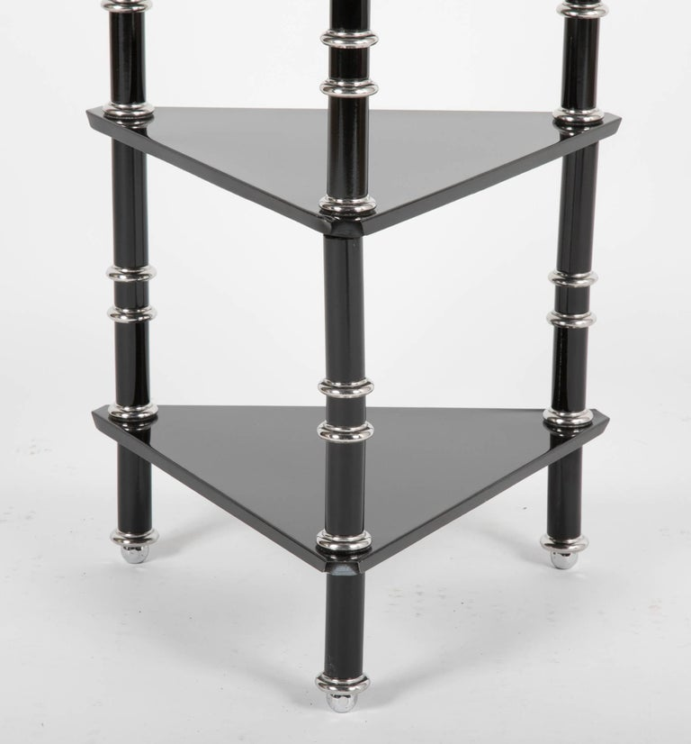 Early 20th Century Rare Transitional Side Table/Etagere  by Warren McArthur For Sale