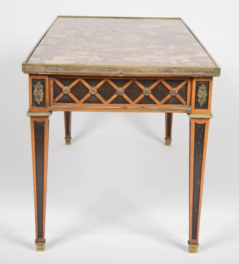 Louis XVI Style Coffee Table by Jansen For Sale 2