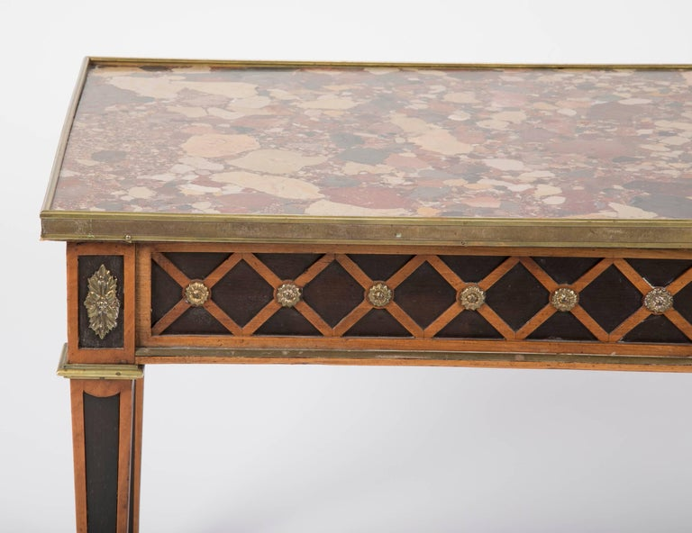Louis XVI Style Coffee Table by Jansen In Excellent Condition For Sale In Stamford, CT