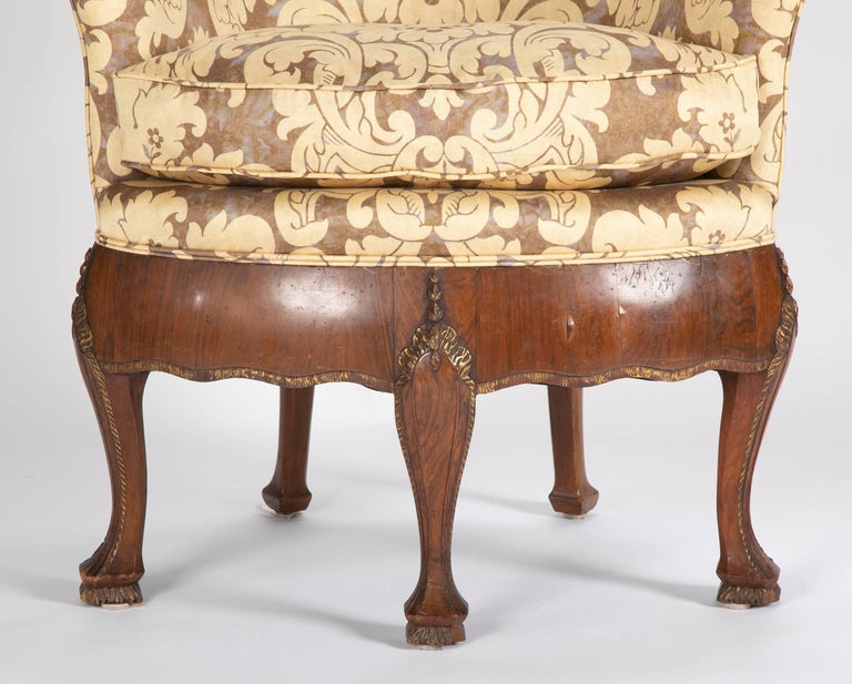 Unusual Pair of Late 19th Century Petit Armchairs For Sale 2