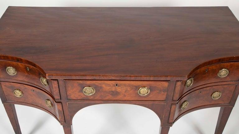 English Regency Mahogany Sideboard For Sale 4