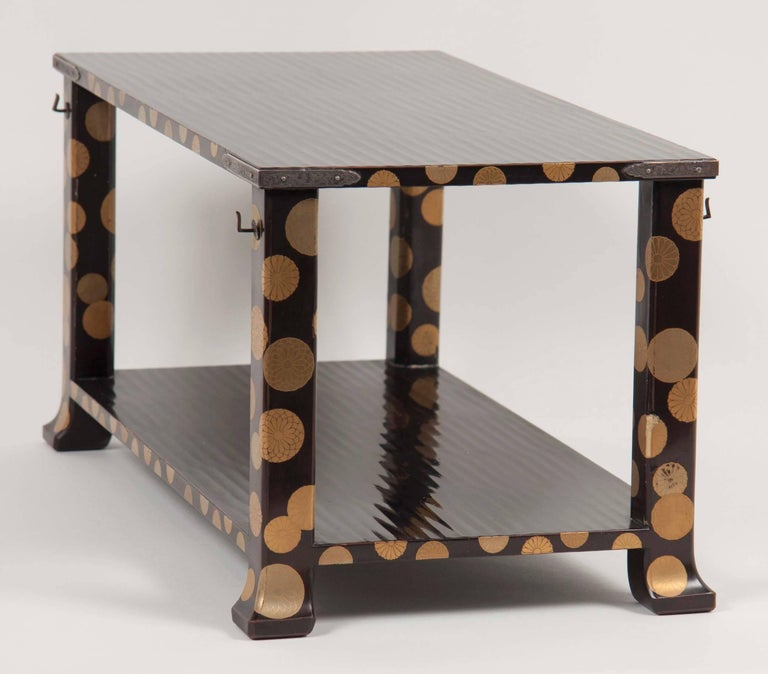 19th Century Japanese Lacquer Stand For Sale