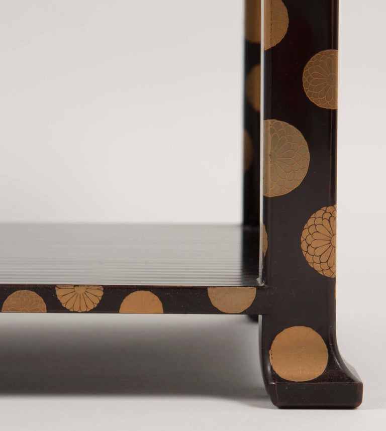 Japanese Lacquer Stand For Sale 5