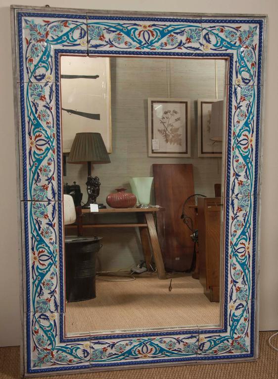 Iznik Style Tile Border Mirror