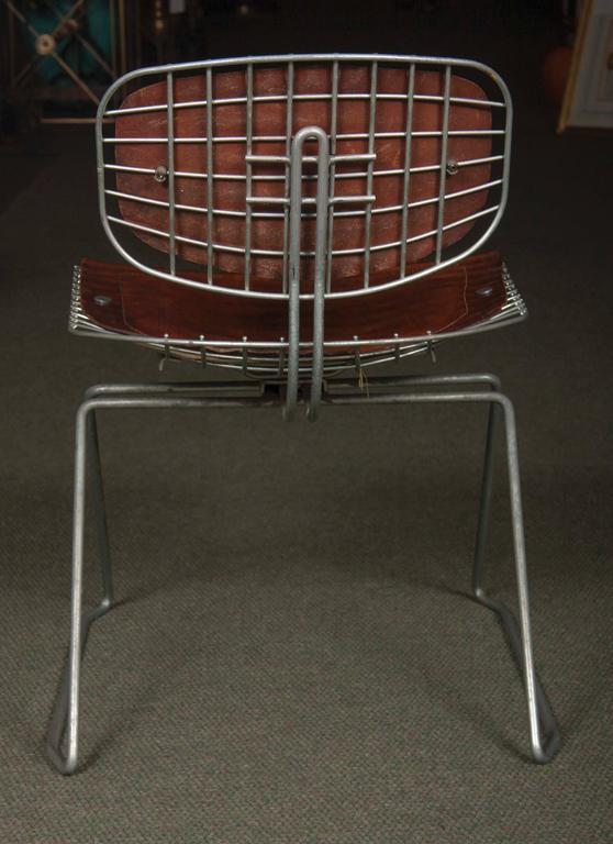French Set of Eight Beaubourg Chairs Designed by Michel Cadestin and Georges Laurent For Sale