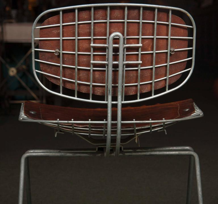 Set of Eight Beaubourg Chairs Designed by Michel Cadestin and Georges Laurent For Sale 1