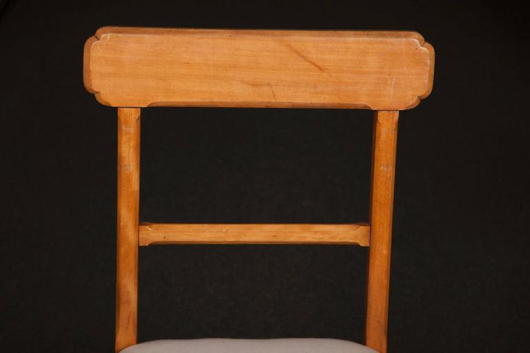 Joinery Matched Set of Ten Arts & Crafts Dining Chairs For Sale