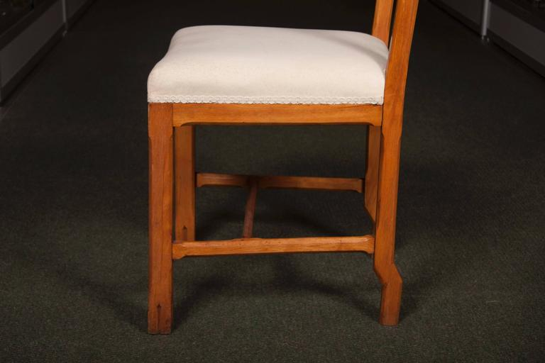 20th Century Matched Set of Ten Arts & Crafts Dining Chairs For Sale