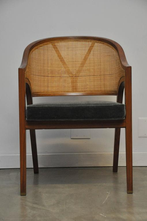 "20th Century Dunbar ""Y-Back Captain Chair"" by Edward Wormley For Sale"
