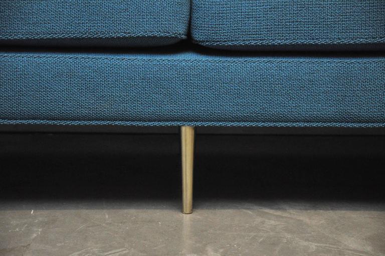 Dunbar Brass Leg Sofa by Edward Wormley For Sale 4