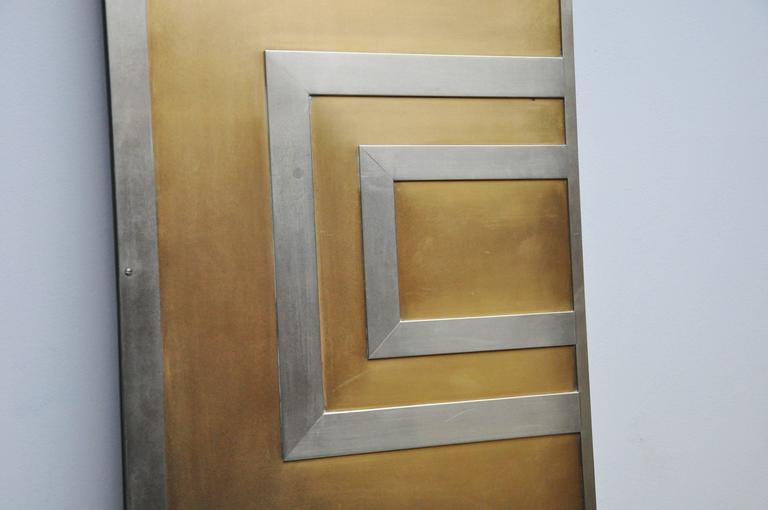 American Glamorous Bronze and Stainless Entry Doors For Sale