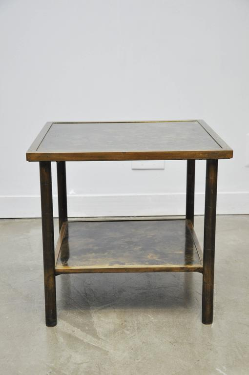 Philip and Kelvin LaVerne Bronze Side Table 2